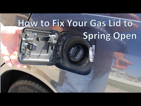 How To Make Your Gas Lid Spring Open
