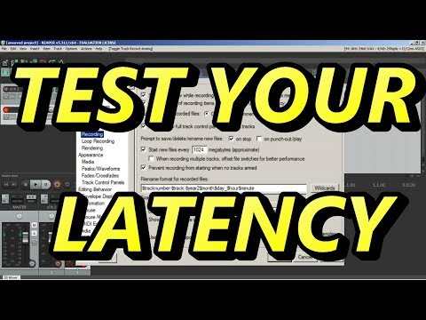 How To Check And Fix Latency In Any Recording Program