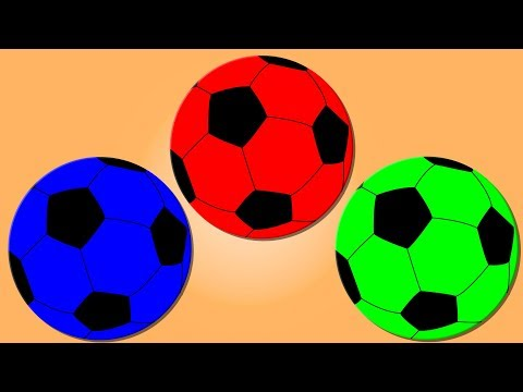 Learn Colors with Balls | Color Song | Learning Video for Children & Babies