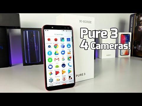 M-Horse Pure 3 - [$149] Helio P23 - 4GB/64GB - 18:9 - 4 Cameras?