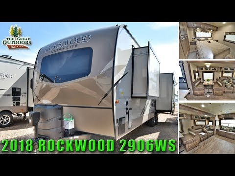 2018 Front Bedroom ROCKWOOD 2906WS Ultra Lite Travel Trailer Colorado RV