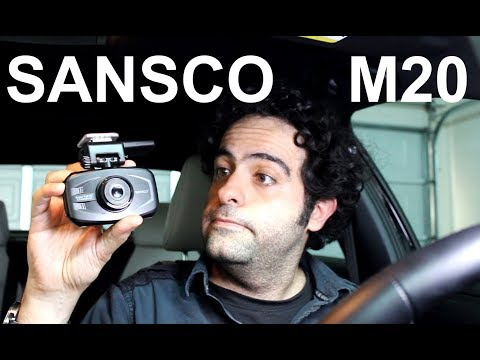 SANSCO M20 1296p Car Dash Cam with GPS [ Unboxing & Review ]