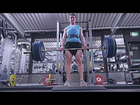 Deadlifts With JP: Strong Mofo!