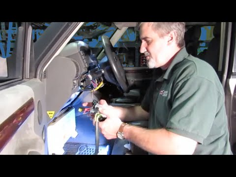Atlantic British Presents: Replace & Install Ignition Key Barrel on Discovery Series II