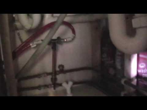 Changing / Plumbing a Washing Machine Dishwasher
