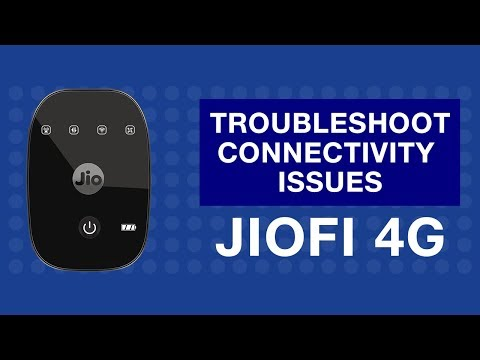 JioFi - How to Troubleshoot Internet Connectivity Issues of JioFi Device | Reliance Jio