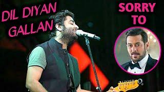 Salman Khan Song Dil Diyan Gallan Sung By Arijit Singh In LIVE Concert