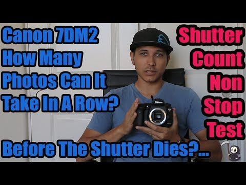 Canon 7D Mark II Shutter Count Test: What Happens If You Take Photos NON-Stop?