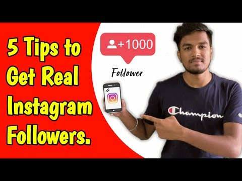 Free Instagram Followers 2019 - How to Increase Instagram