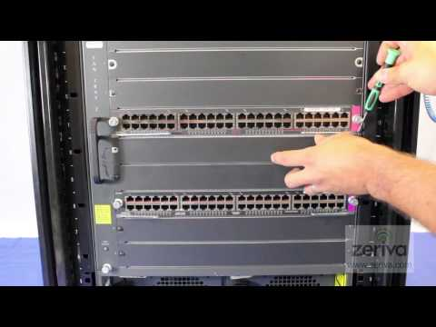 How to install a SUP-720 supervisor engine in a Cisco 6509 chassis