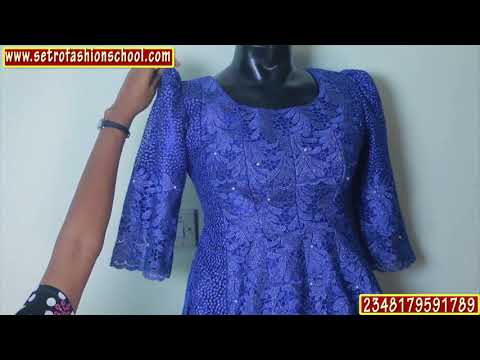 DIY: How To Cut Padded/Bust Cut African/Nigerian Igbo Blouse {Well detailed}