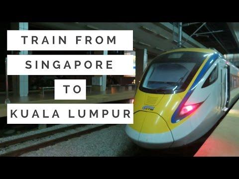 🚆 How To Take Train From 🇸🇬 Singapore (Woodlands) to 🇲🇾 Kuala Lumpur (KL Sentral)   irene ijoli