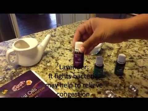 Nasal spray or Neti pot mixture for sinus issues