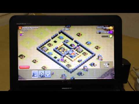 Clash of Clans on Kitkat in netbook Dell Mini Inspiron 10