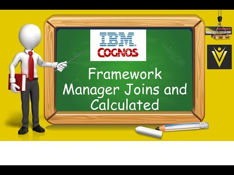 How to Create Joins and Calculated columns in Cognos Framework Manager