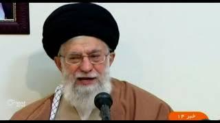 """ماذا قال """"خامنئي"""" عن احتجاجات إيران ولماذا؟"""