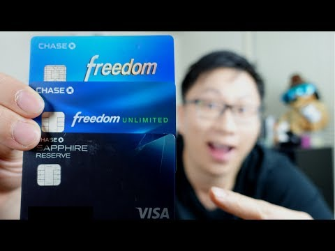Chase Trifecta: The Best Credit Card System for Free Flights (2017)