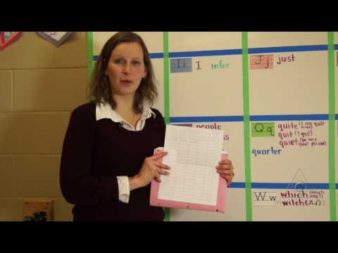 Cross-Curricular Word Wall: Expanding Vocabulary and Spelling in the Content Areas (Virtual Tour)