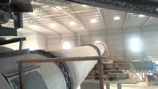 Lime  calcination plant,- Rotary kiln, Rotary dryer ,