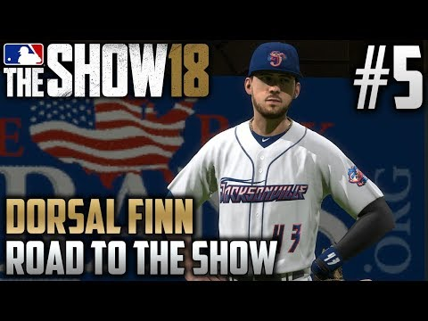 MLB The Show 18 Road to the Show | Dorsal Finn (Third Base) | EP5 | LEFT FIELD?