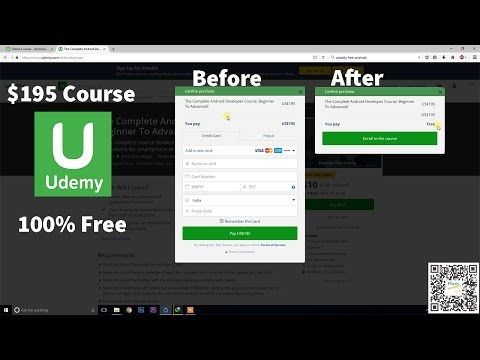 Learn Android Development with Certificate $195 course for free