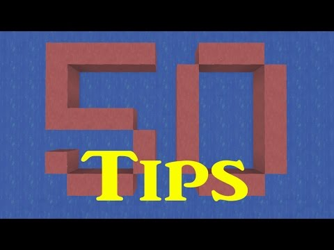 [0.10.4] Best 50 tips in Minecraft PE, you must watch it. (No gabbing,saving your time)