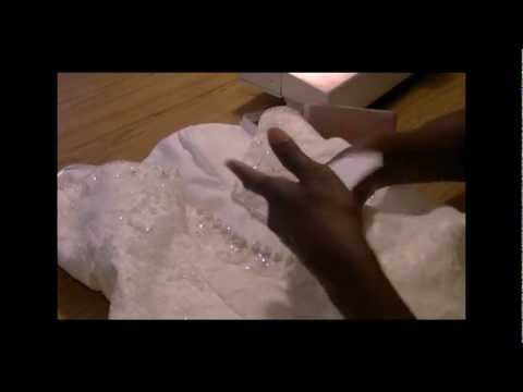 Bridal Gown...Add Button Loops - Freestyle Friday #27