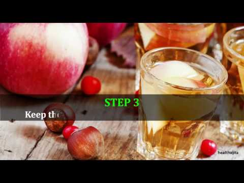 Apple Cider Vinegar in Bath to Cure Yeast Infection