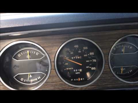 1985 Dodge Ram D100 225 Slant 6 0-60 MPH