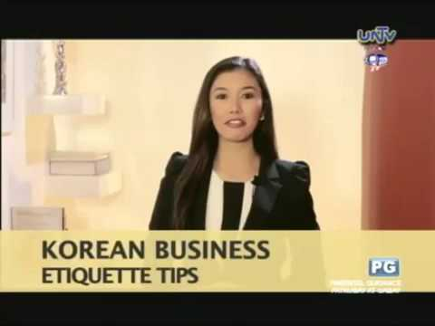Korean business etiquette tips