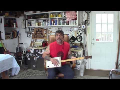 Cigar Box Guitar Build / How to carve, shape, cut the neck