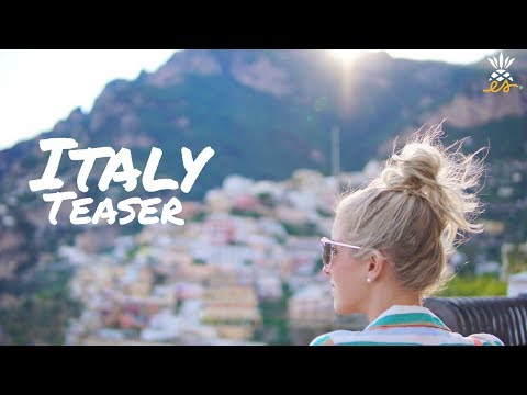 Italy Teaser: Our Mediterranean Summer Vacation
