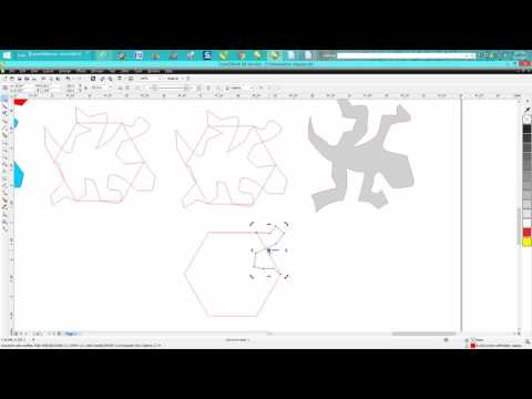 Corel Draw Tips & Tricks Tessellation Lizard