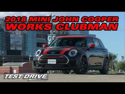 Test Drive: The 2018 Mini John Cooper Works Clubman