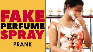 Fake Perfume Spray Prank in Telugu | Food for Old Age Home | Latest Telugu Pranks | FunPataka