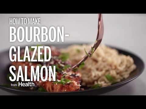 How to Make Bourbon-Glazed Salmon | Health