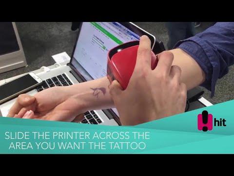 Insane Temporary Tattoo Printer, Print Directly Onto Your Skin!