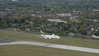 Emirates A380 lands in Hamburg | Emirates Airline