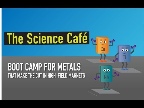 MagLab Science Café: Boot Camp for Metals that Make the Cut in High-Field Magnets