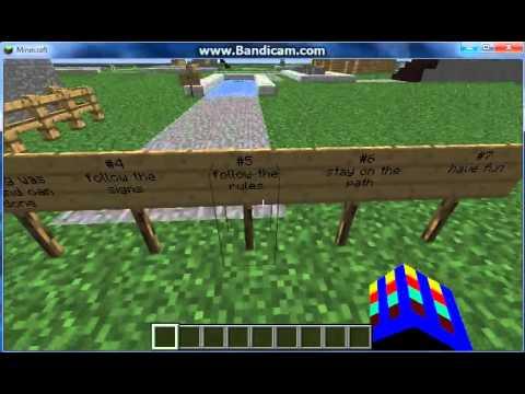 Minecraft mini game: golf