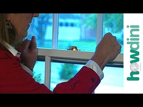 How to open a stuck window - How to fix a window jam