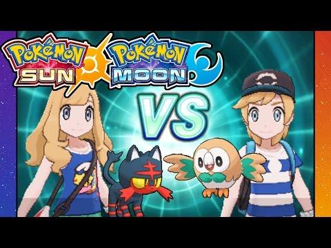 Pokemon Sun and Moon - 3DS Gameplay Walkthrough PART 4 - Rival Battle VS Dani - Clothes & Hair Style