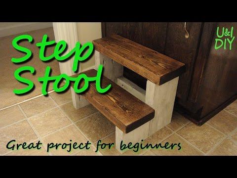 Step stool - DIY tutorial