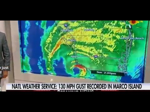 Live new HURRICANE IRMA Hits Fort Myers Miami Florida
