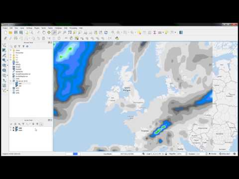 Support for xyz tiles in QGIS