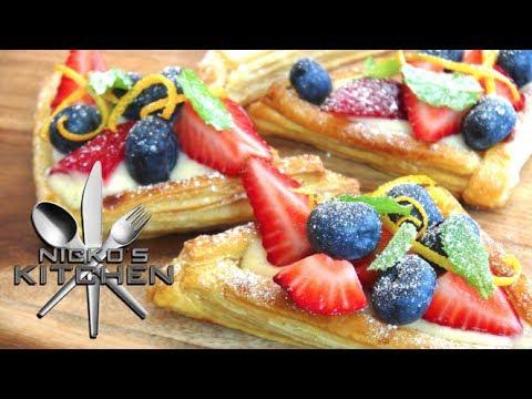 Custard Fruit Tarts - Video Recipe