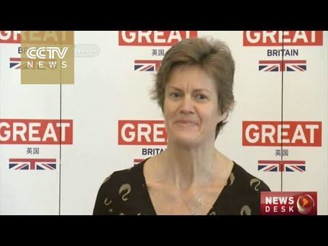 New UK ambassador to China speaks at press conference