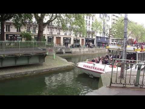 Paris Canal St Martin 2017