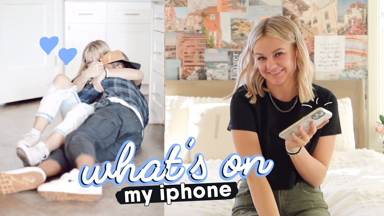 What's On My New iPhone 12 Pro Max || Kesley Jade LeRoy