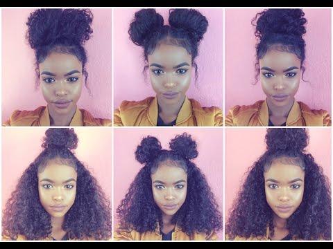 NATURAL HAIR | 6 BUN STYLES FOR CURLY HAIR
